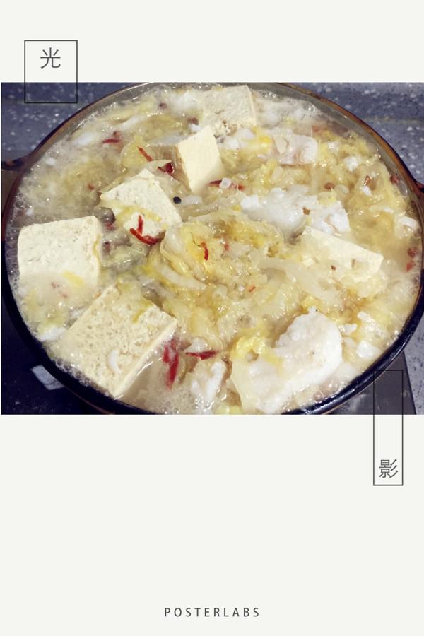 酸菜龙俐鱼汤的做法
