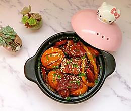 竹笋卤肉#春天肉菜这样吃#的做法