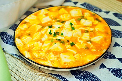新年第一口美味的蟹黄豆腐