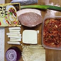 大喜大牛肉粉之【泡菜汤】的做法图解1