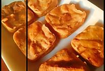 黄桃酸奶糯米豆沙糕的做法