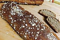 无油低脂燕麦面包的做法