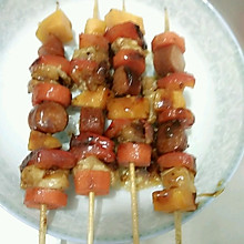 肉肉蔬菜串