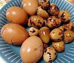 鸡汁卤蛋,家人喜欢的的做法