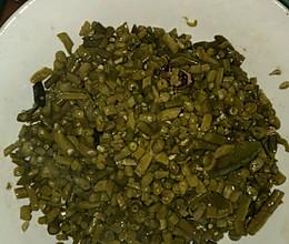 炒泡缸豆的做法