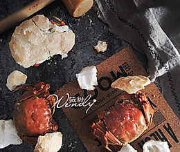 日式盐烤蟹的做法