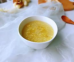 #洗手作羹汤#苹果小米粥的做法