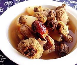 姬松茸排骨萝卜汤的做法