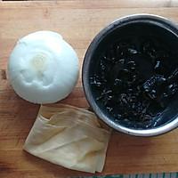 洋葱木耳拌豆皮#爽口凉菜,开胃一夏!#的做法图解1