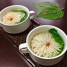 菊花豆腐汤