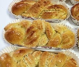 椰蓉面包(冷藏发酵法)的做法