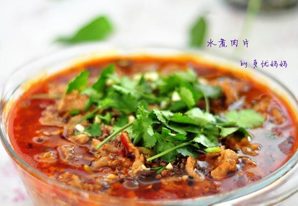 零失败的热门菜——水煮肉片的做法