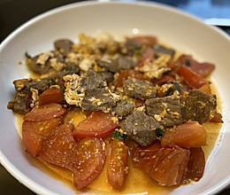 番茄鸡蛋牛肉的做法