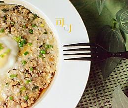 香菇肉饼蒸蛋:上班族家常快手菜的做法