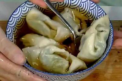 三文鱼荠菜馄饨