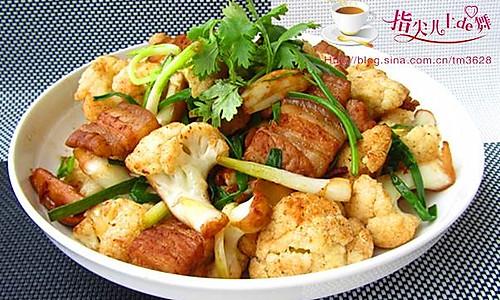 很下饭的美味家常菜----干锅花菜的做法