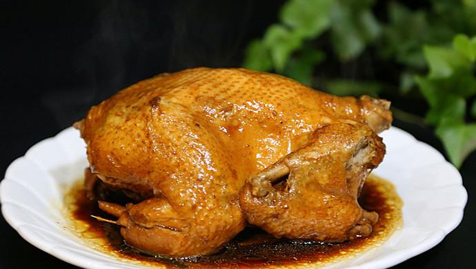 电饭锅版焖鸡
