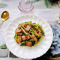 蒜苔回锅肉的做法图解12