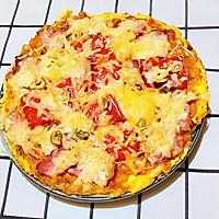 【生酮饮食·真酮】纯鸡蛋披萨,你吃过吗?(减肥食谱)的做法图解19