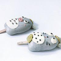 龙猫卡通雪糕包子Totoro---创意馒头的做法图解15