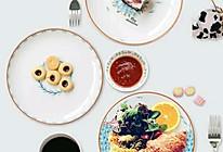 三文鱼球生菜沙拉的做法