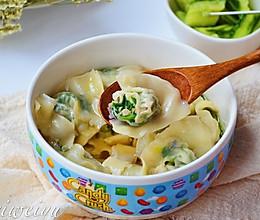 韭菜馄饨的做法