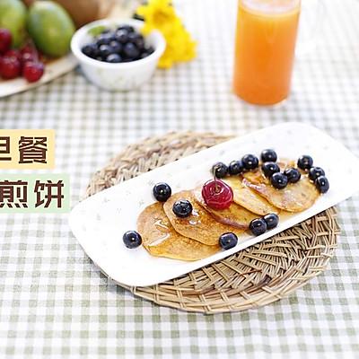 活力早餐-蕉泥煎饼+纤瘦果汁