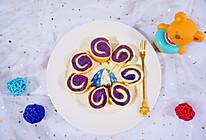 紫薯鸡蛋卷·辅食的做法