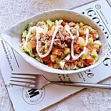 #秋天怎么吃#金枪鱼土豆泥沙拉#麦子厨房美食锅#
