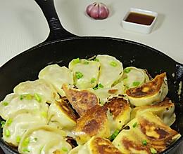 杏鲍菇馅儿锅贴的做法