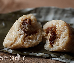 鲜肉粽子——多图详解四角粽子的包法的做法