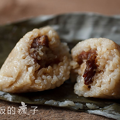 鲜肉粽子——多图详解四角粽子的包法
