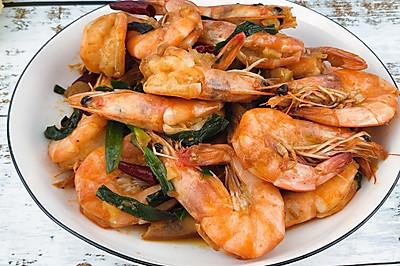 ㊙️巨好吃的葱爆大虾,特别简单的快手菜