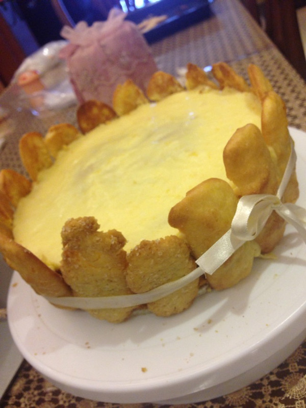 冻伤的奶油(冻伤心-)也能做的芒果慕斯的做法