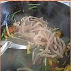 韭菜炒魷魚的做法圖解6