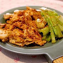 减脂神餐-香煎鸡胸肉