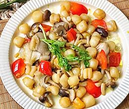 清爽鲜菌烩瑶柱,嫩☞鲜☞美的做法