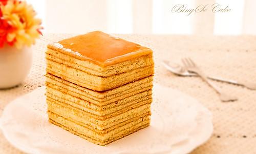 【蜂蜜千层蛋糕】的做法