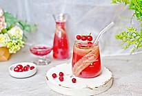 #百变莓小姐#微醺伏特加青瓜蔓越莓特饮的做法