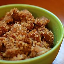 粉蒸肉 从蒸肉米粉开始制备