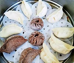 粗粮更健康——黑麦萝卜牛肉包子