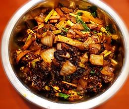简单美味-干锅耗儿鱼的做法