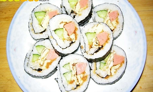 爱心寿司的做法