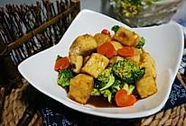 焦溜豆腐的做法