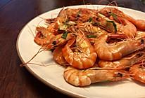 清炒草虾的做法