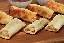 三鲜锅贴 调馅配方大揭秘+如何两下擀出一张饺子皮的做法