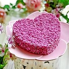 #精品菜谱挑战赛#紫薯松糕