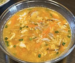 榨菜肉丝蛋花汤的做法