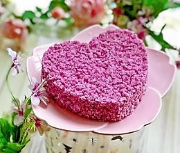#精品菜谱挑战赛#紫薯松糕的做法