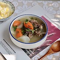 萝卜羊排骨汤#肉食者联盟#的做法图解12